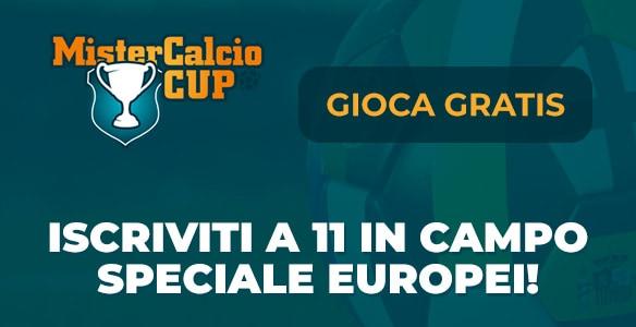 Mister Calcio Cup europei