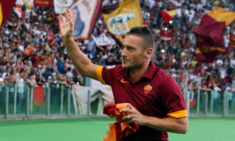 Totti: «Per lo scudetto rinuncerei al...gelato»