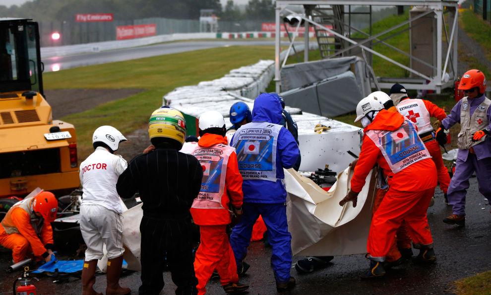 F1, Bianchi, condizioni gravi: «Lo stanno operando»