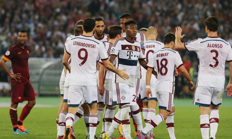 Champions League Roma-Bayern, Bayern stratosferico: Roma travolta 7-1