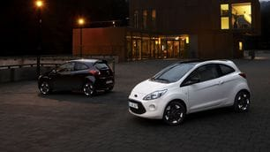 Ford Fiesta e Ford Ka Black and White Edition 2015
