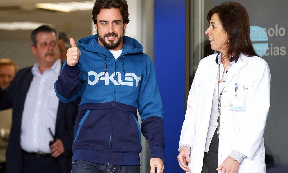 Alonso salta il primo Gp   McLaren: Consigli medici