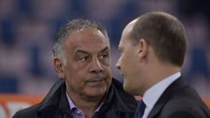 FOTO Roma-Juventus: Pallotta all'Olimpico per il big match