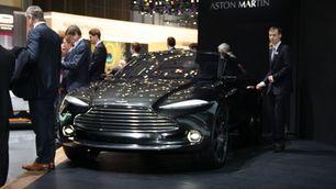 Aston Martin DBX, Salone di Ginevra 2015: foto