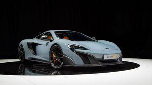 McLaren 675 LT, Salone di Ginevra 2015