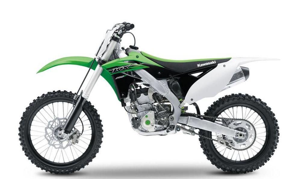 Kawasaki KX250F: le immagini statiche