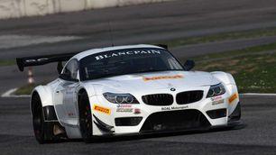 Alex Zanardi alla 24Ore di Spa con BMW