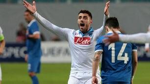 FOTO Dinamo Mosca-Napoli 0-0: basta il pareggio per passare ai quarti