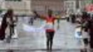 Maratona di Roma: vince l'etiope Degefa, terzi gli azzurri Toniolo e Chatbi