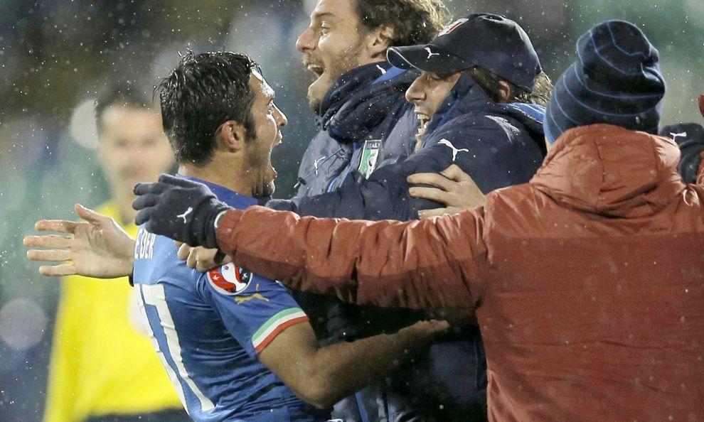 L'Italia salvata da Eder, solo un pari in Bulgaria