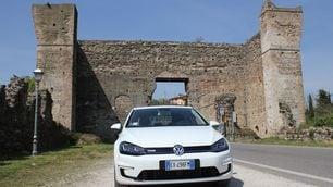 Volkswagen e-Golf, la prova dell'elettrica