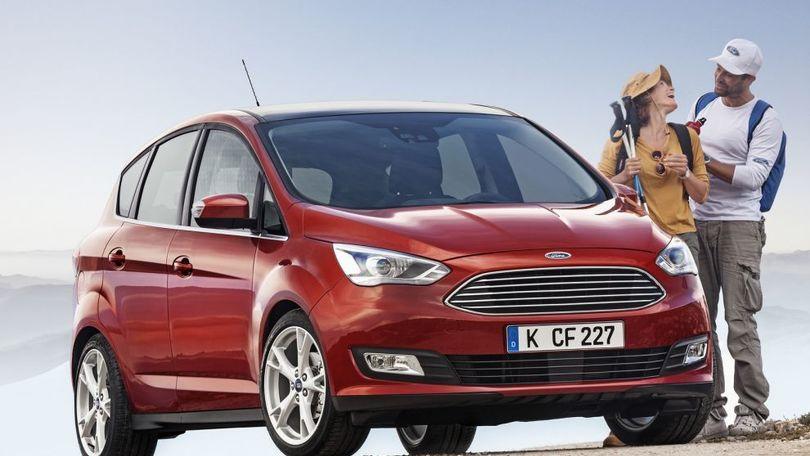 Corriere Dello Sport Ford C Max Tecnologia Per La Famiglia La Prova