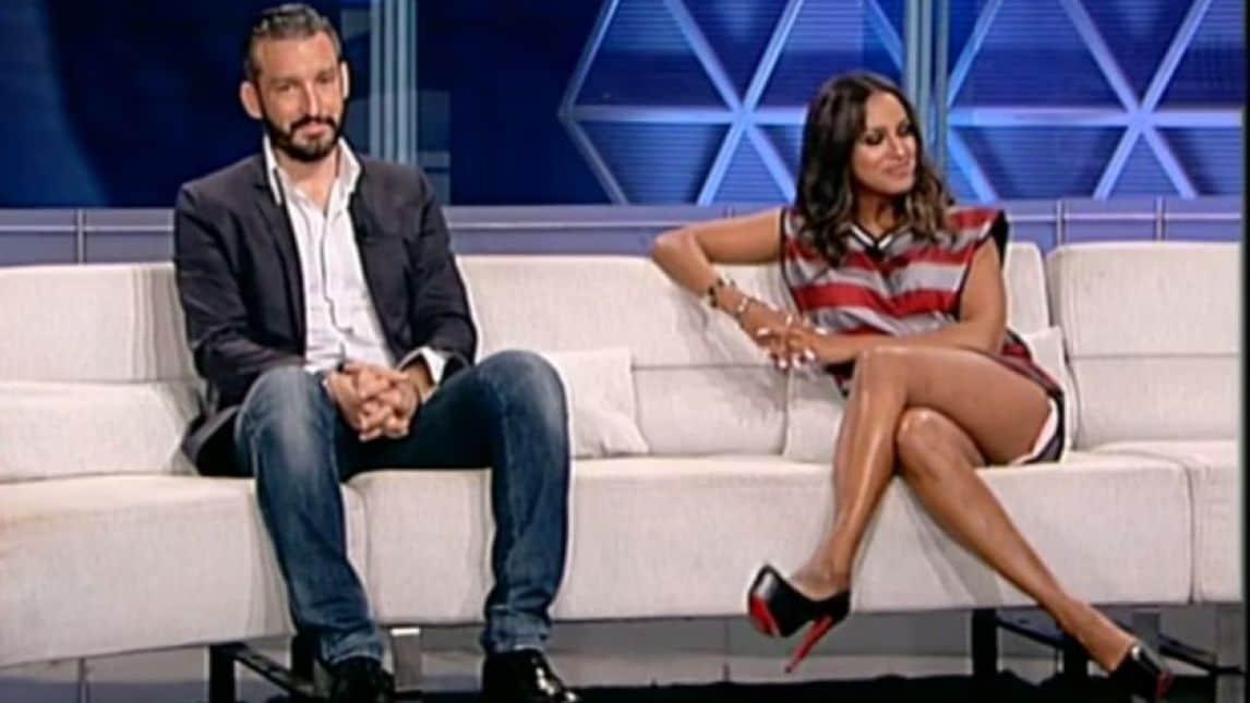 più recente 3741c 48f98 FOTO Fanny Neguesha in minigonna in tv - Corriere dello Sport