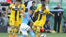 FOTO Parma-Napoli 2-2: solo un punto per gli azzurri