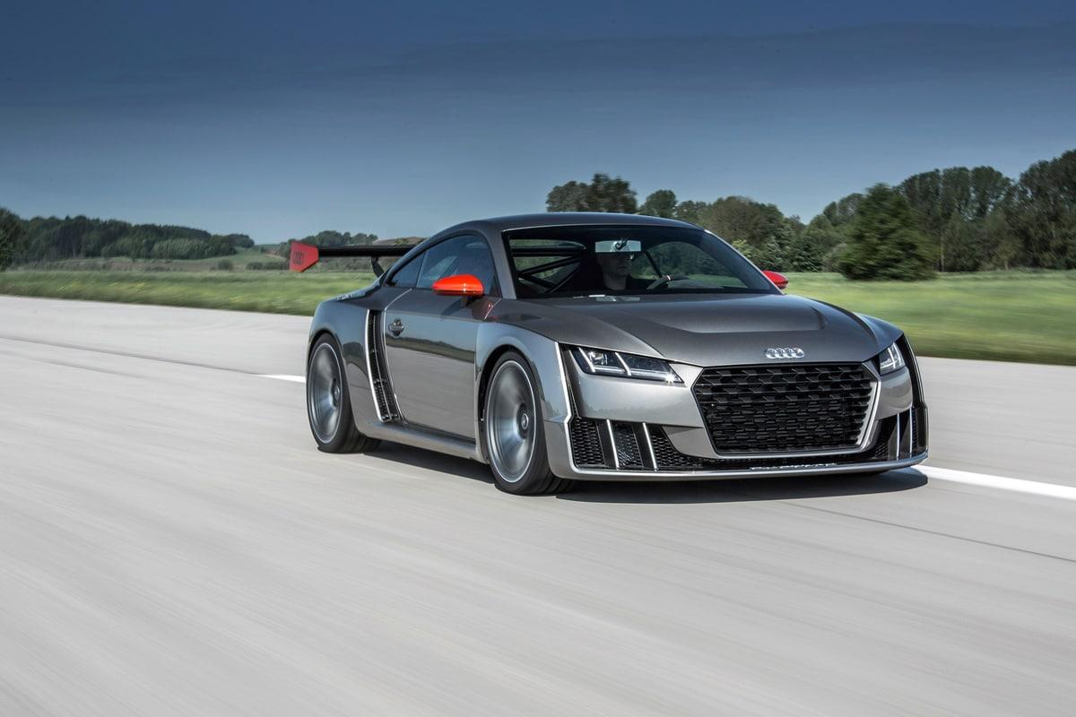Audi TT clubsport turbo, potenza mai vista