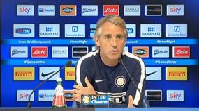 """Mancini: """"Vinciamo e speriamo nelle sconfitte delle altre"""""""