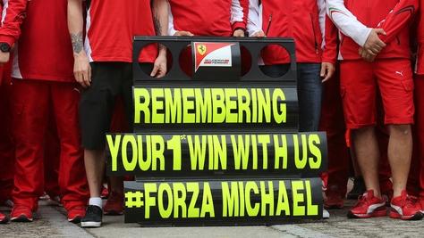 La portavoce di Schumacher: «Fa continui progressi»