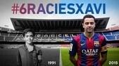 Barça, l'addio di Xavi. E' Totti l'ultima bandiera