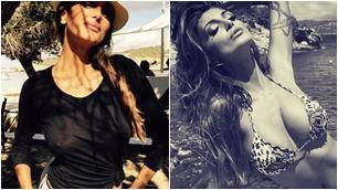 Cristina Buccino, trasparenze sexy a Ibiza