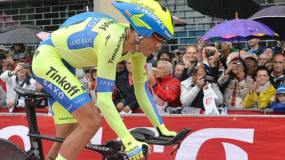 Contador torna maglia rosa.Kiryienka vince la 14ª tappa