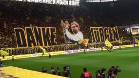 Borussia, che show il tributo allo stadio per Klopp