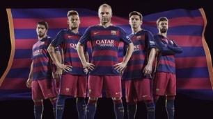 FOTO Il Barça cambia pelle: ecco la nuova maglia!