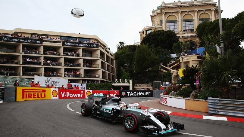 F1 Gp Monaco: Hamilton in testa, Vettel terzo