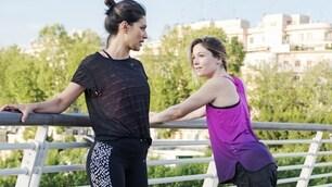 Lady De Rossi si allena per la 10 km