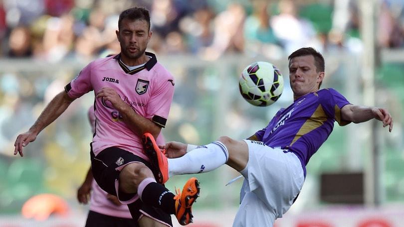 Serie A, la Fiorentina passa a Palermo e torna quinta