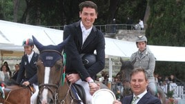 Piazza di Siena, De Luca vince il premio Corriere dello Sport