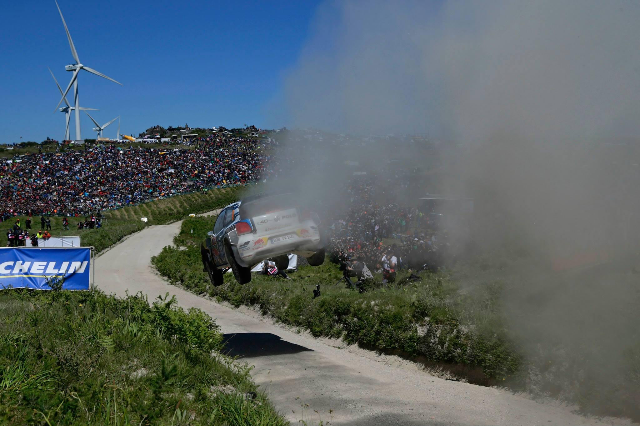 WRC 2015, Rally del Portogallo, trionfo Volkswagen