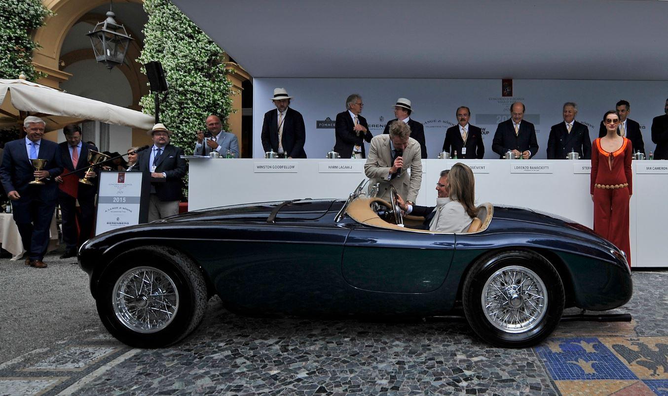 Villa d'Este, la Ferrari di Agnelli vince la Coppa d'Oro