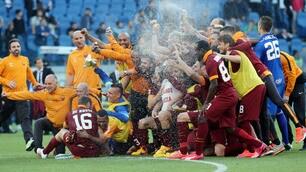 Derby Lazio-Roma: la grande festa giallorossa