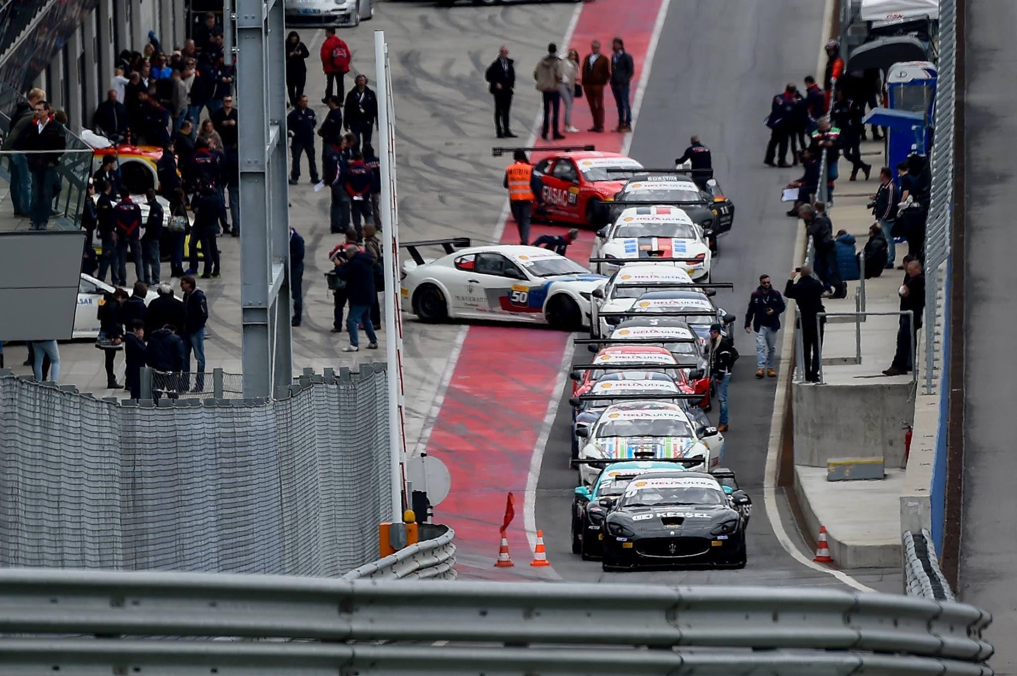 Maserati Trofeo 2015, che show in Austria