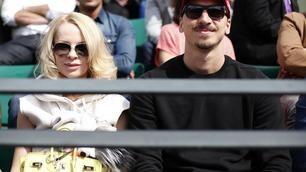 FOTO Ibra e la bella Helena: che tifo al Roland Garros!