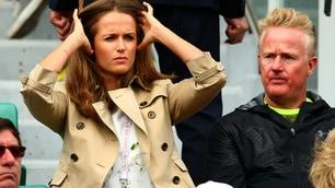 Kim Sears regina del Roland Garros
