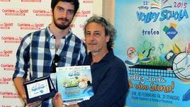 Volley Scuola, le premiazioni al Corriere dello Sport