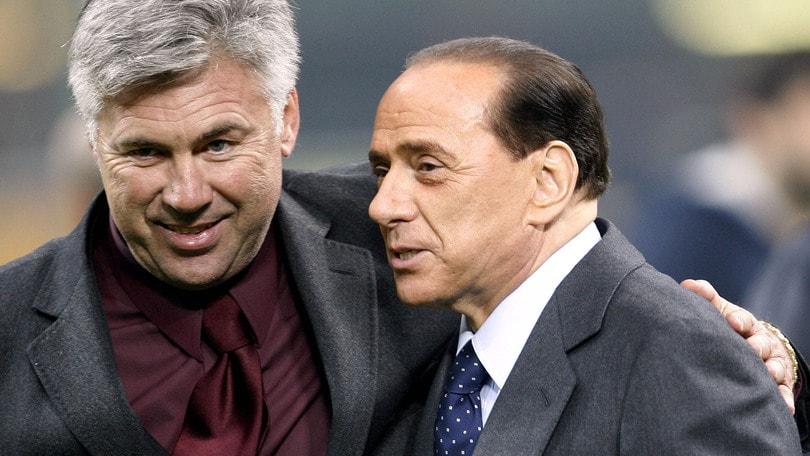 Berlusconi: «Ancelotti allenerà il Milan. E Ibra...»