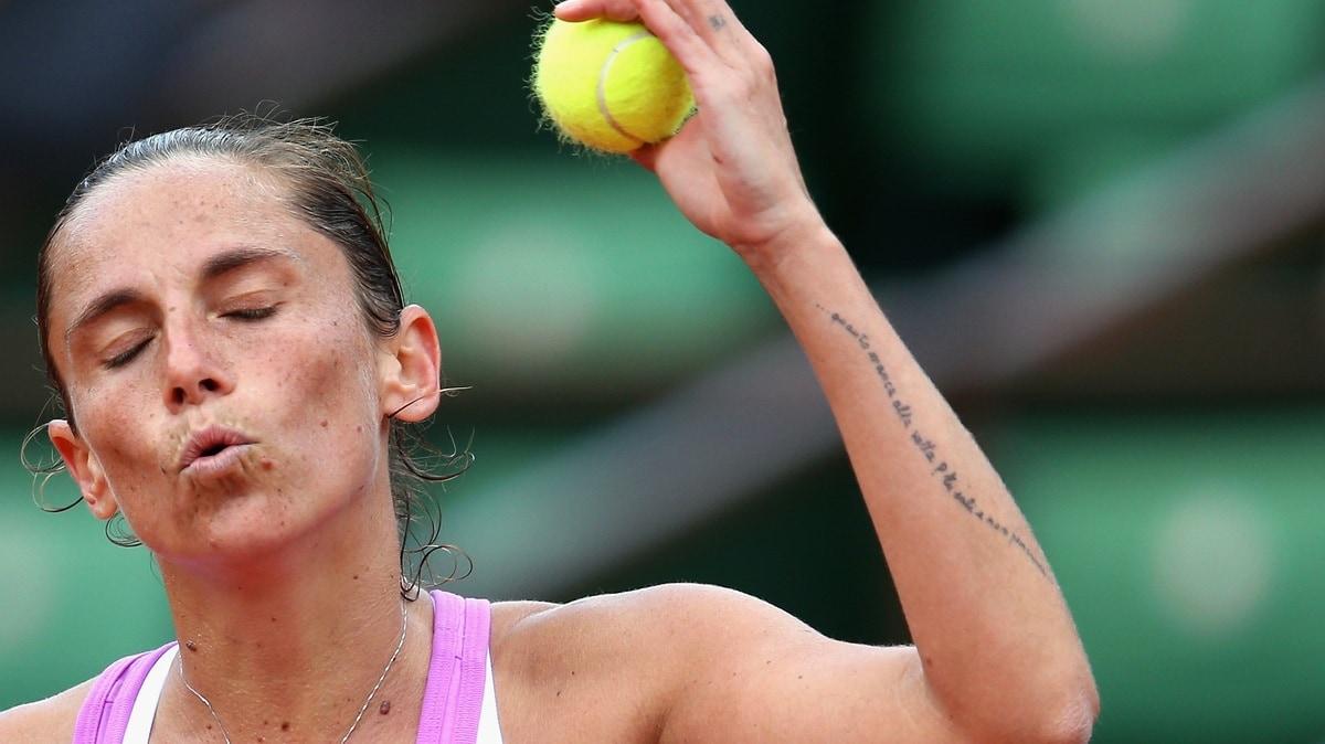 Tennis, Vinci: un tatuaggio per darsi la carica