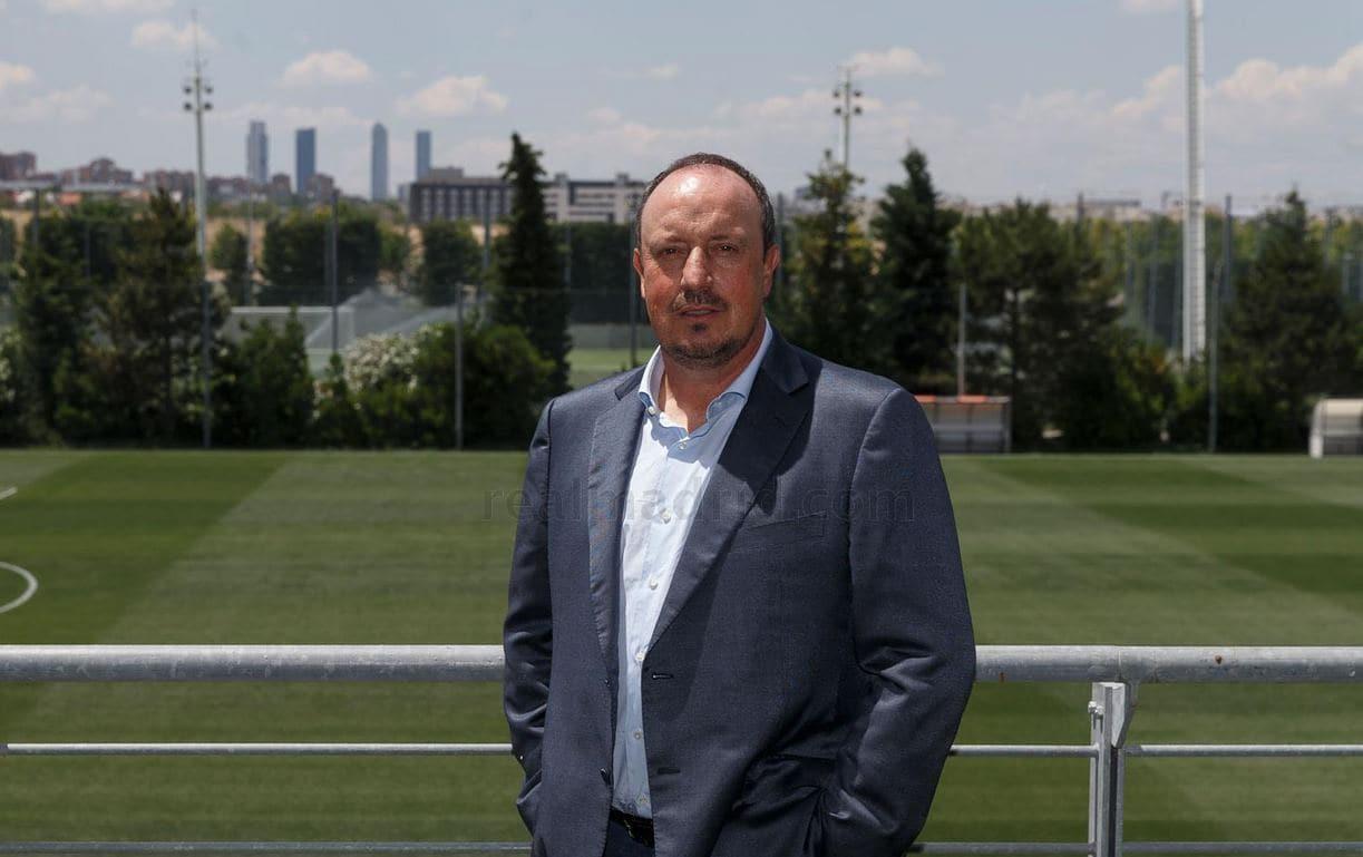 Real Madrid  ufficiale Benitez nuovo allenatore Presentazione in DIRETTA