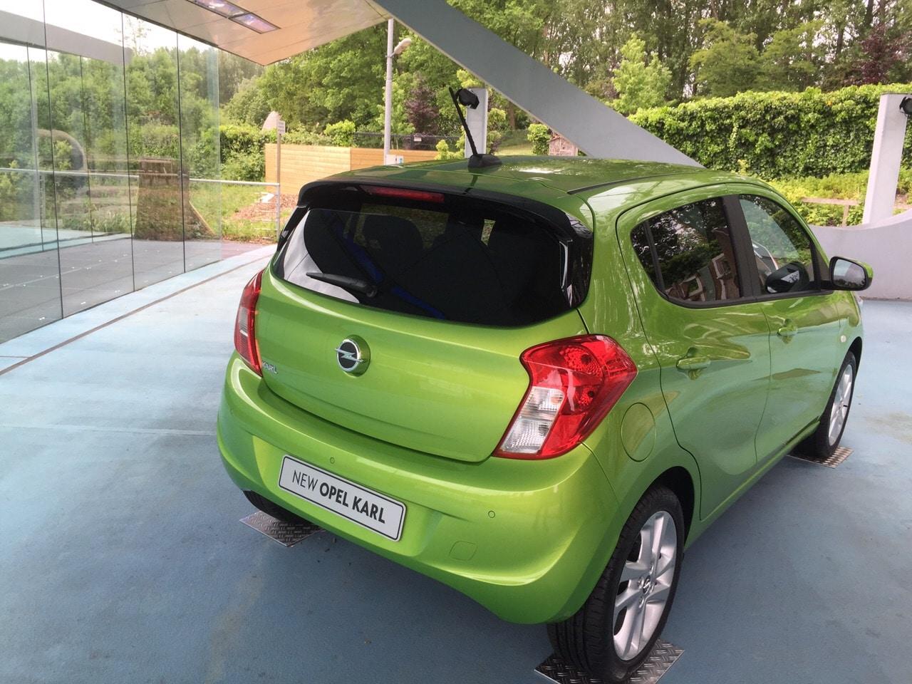 Opel Karl: consuma poco e costa anche meno (foto)