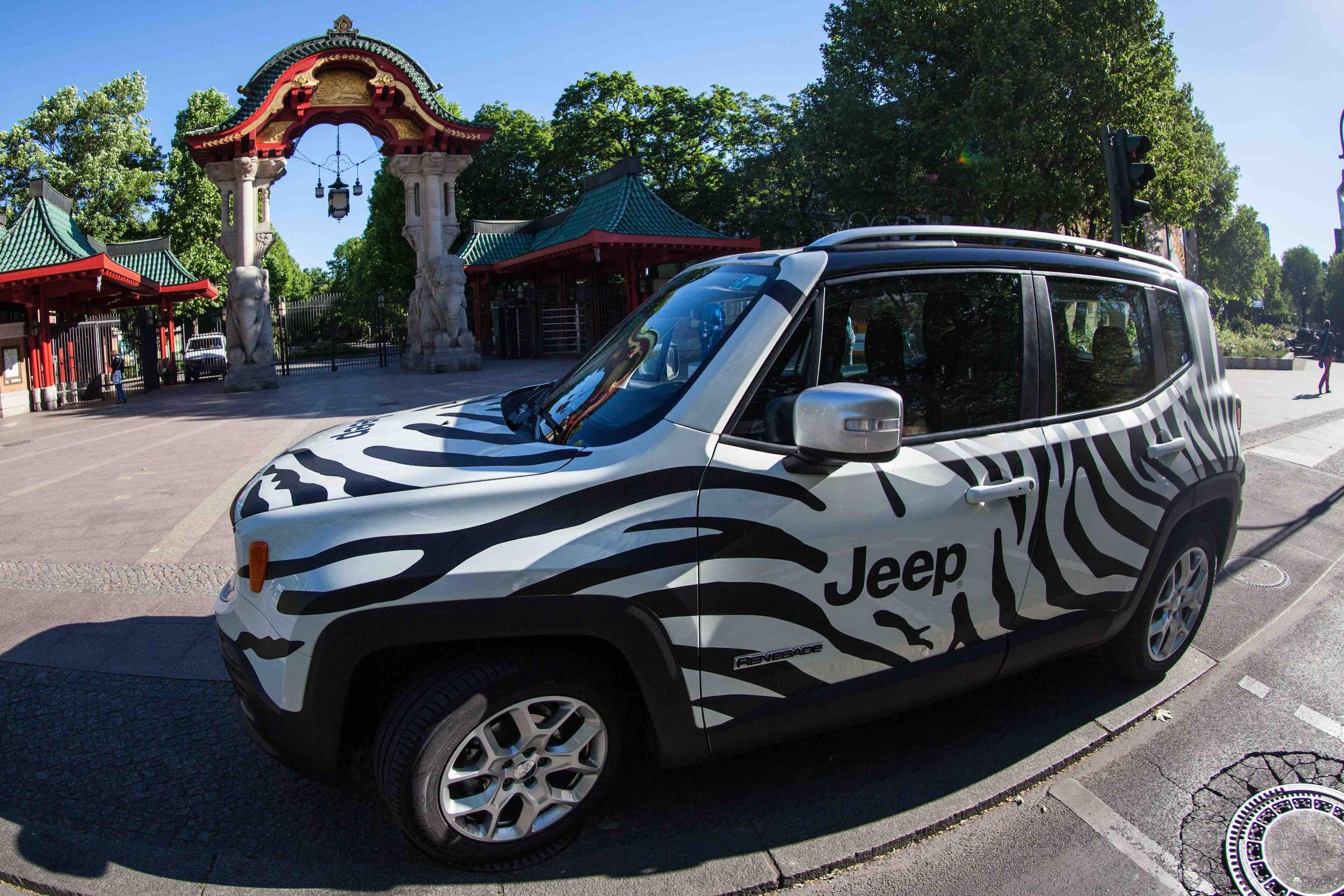 Munao Jeep Una Renegade Zebrata Per La Juve Corriere Dello Sport