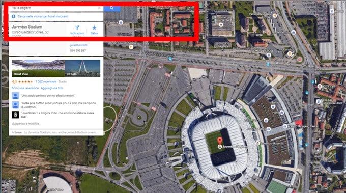 """Google Maps, clamorosa svista: """"Lavali..."""" indica il Vesuvio"""