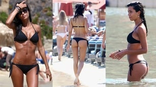La Nargi è già in vacanza: sexy bikini a Mykonos