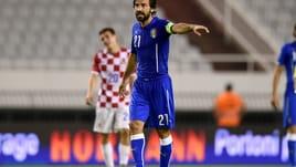 Italia convincente, bene il tridente, grande Candreva