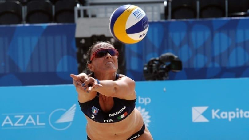 Beach Volley: A Baku partenza ok per le coppie azzurre
