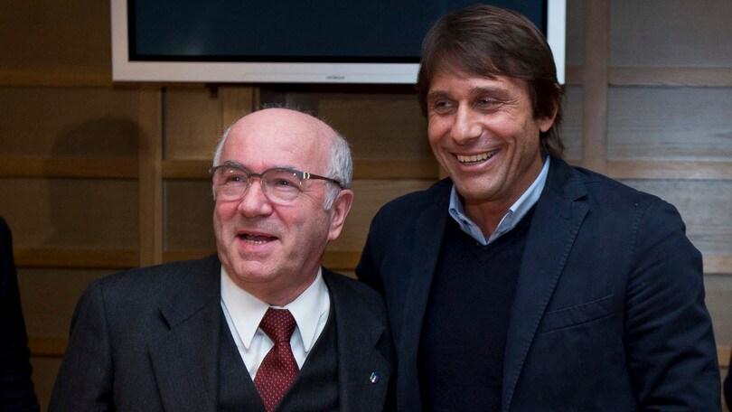 Tavecchio: «Non mi stupirei di vedere Conte ai Mondiali»