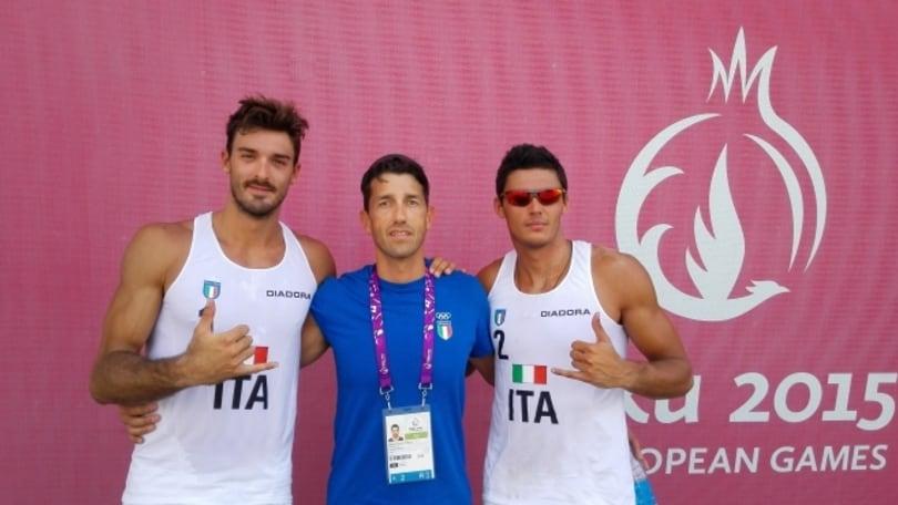 Beach Volley: European Games vincono Ranghieri-Rossi