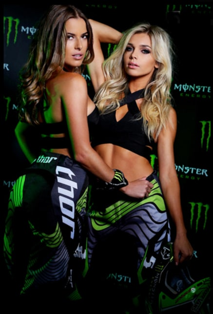 Consider, that Pictures of hot girls that sponsor monster energy something also