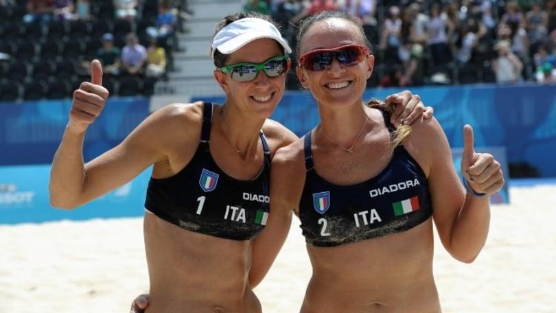 Beach Volley: European Games, passano Gioria-Momoli